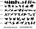 Vector Silhouettes Of Penguins  ...