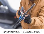 vehicle and people concept  ... | Shutterstock . vector #1032885403