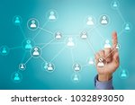 team building structure and... | Shutterstock . vector #1032893050
