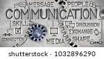 macro photo of tooth wheel... | Shutterstock . vector #1032896290