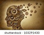 dementia brain problem medical  ... | Shutterstock . vector #103291430