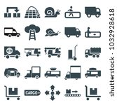 moving icons. set of 25... | Shutterstock .eps vector #1032928618
