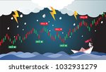 candlestick patterns is a style ... | Shutterstock .eps vector #1032931279