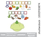 educational puzzle game for...   Shutterstock .eps vector #1032933874