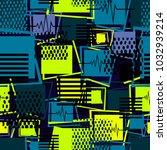 abstract seamless sport pattern ...   Shutterstock .eps vector #1032939214