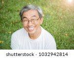 portrait of healthy happy... | Shutterstock . vector #1032942814