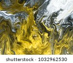 black and white with gold... | Shutterstock . vector #1032962530