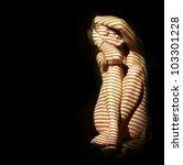 Nude Woman In The Dark