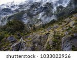 scenery at milford sound  south ... | Shutterstock . vector #1033022926