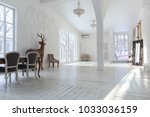 a spacious bright living room...   Shutterstock . vector #1033036159