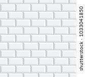 seamless subway tile texture  ... | Shutterstock .eps vector #1033041850