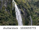 scenery at milford sound  south ... | Shutterstock . vector #1033055773