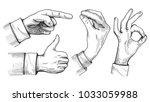 Vector Illustration Of A Set O...