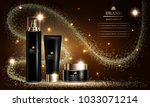 cosmetics beauty series  mockup ...   Shutterstock .eps vector #1033071214