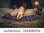 Tarot Cards And Fortune Teller. ...