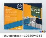 abstract modern background ... | Shutterstock .eps vector #1033094368