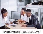 auto business  sale and people... | Shutterstock . vector #1033108696