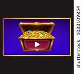 daily bonus game asset | Shutterstock .eps vector #1033109854
