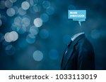 brand ambassador professional.... | Shutterstock . vector #1033113019