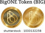 set of physical golden coin...   Shutterstock .eps vector #1033132258
