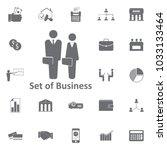 businessman businesswoman...   Shutterstock .eps vector #1033133464
