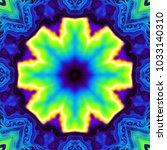 abstract digital art fractal...   Shutterstock . vector #1033140310