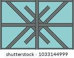 geometric pattern in repeat....   Shutterstock .eps vector #1033144999