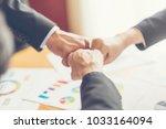 business people meeting design... | Shutterstock . vector #1033164094