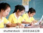 phatthalung  thailand february... | Shutterstock . vector #1033166128