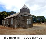 Old Chapel Among The Tombstone...