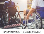 disabled bus concept   disabled ... | Shutterstock . vector #1033169680