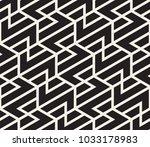 vector seamless pattern. modern ... | Shutterstock .eps vector #1033178983