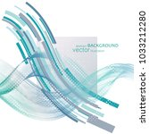 abstract vector background ... | Shutterstock .eps vector #1033212280