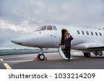 full length portrait of... | Shutterstock . vector #1033214209