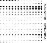 grunge halftone black and white ... | Shutterstock . vector #1033224049