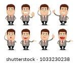 professional staff set | Shutterstock .eps vector #1033230238