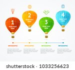 business infographic realistic... | Shutterstock .eps vector #1033256623