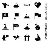 solid vector icon set   traffic ... | Shutterstock .eps vector #1033277818