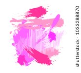 abstract colorful pink pastels...   Shutterstock .eps vector #1033288870