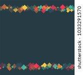 rhombus card minimal geometric... | Shutterstock .eps vector #1033291570