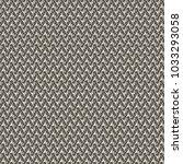 texture of crochet jersey with...   Shutterstock .eps vector #1033293058