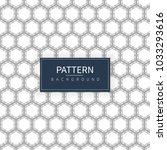 hexagon art pattern | Shutterstock .eps vector #1033293616