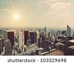 vintage manhattan   Shutterstock . vector #103329698
