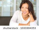 portrait of an asian woman... | Shutterstock . vector #1033304353
