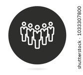 people vector icon....   Shutterstock .eps vector #1033307800