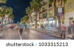 forte dei marmi  italy   june... | Shutterstock . vector #1033315213