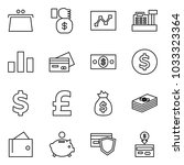 flat vector icon set   purse... | Shutterstock .eps vector #1033323364