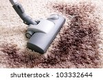 vacuuming very dirty white ...   Shutterstock . vector #103332644
