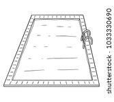 vector of swimming pool | Shutterstock .eps vector #1033330690