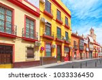 seville  spain   june 08 2017 ... | Shutterstock . vector #1033336450